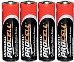 AA batteries 4-pack