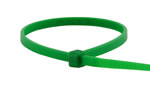 Green zip tie, 100 count